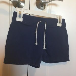 Girls size 10 navy Carters  shorts